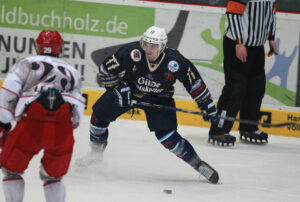 Michl in Aktion bei den Hannover Indians